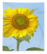 Sunny Sunflower Fleece Blanket