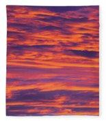 Sunrise #2 Fleece Blanket