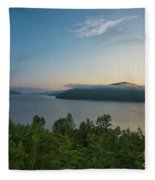Sunrise Allegheny National Forest Fleece Blanket