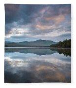 Sunrise At Chocorua Lake -2 Fleece Blanket