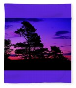 Sunrise At Point Pleasant Park Fleece Blanket