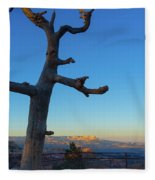 Sunrise Bryce Canyon Fleece Blanket