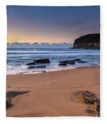 Sunrise By The Seaside Fleece Blanket
