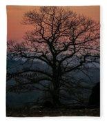 Sunrise From Bolton Ma Fleece Blanket