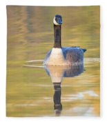 Sunrise Goose Fleece Blanket