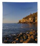Sunrise In Acadia Fleece Blanket