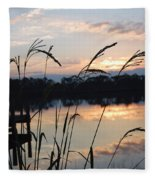 Sunrise In Grayton 3 Fleece Blanket