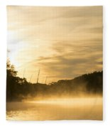 Sunrise Of Fire Fleece Blanket
