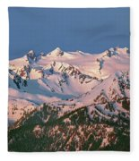 1m4120-sunrise On Mt. Olympus  Fleece Blanket