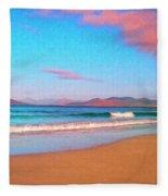 Sunrise On Sea Of Cortez Fleece Blanket