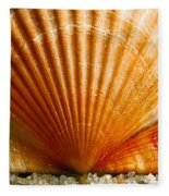 Sunrise On Shell Fleece Blanket