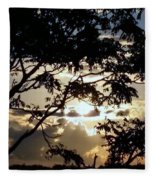 Sunrise Over Fort Salonga6 Fleece Blanket