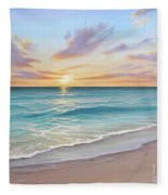 Sunrise Splendor Fleece Blanket