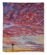 Sunrise / Sunset Fleece Blanket