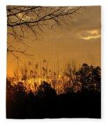 Sunrise Sunset Fleece Blanket