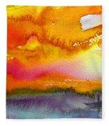 Sunset 02 Fleece Blanket