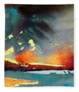 Sunset 08 Fleece Blanket