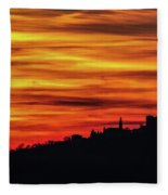 Sunset 11 Fleece Blanket