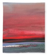 Sunset 12 Fleece Blanket
