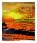 Sunset 15 Fleece Blanket