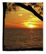 Sunset 2 Fleece Blanket