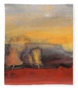 Sunset 23 Fleece Blanket