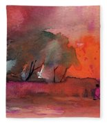 Sunset 28 Fleece Blanket
