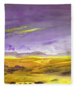 Sunset 30 Fleece Blanket