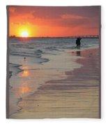 Sunset 5 Fleece Blanket