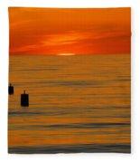 Sunset 6 Fleece Blanket