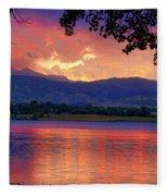 Sunset 6.27.10 - 28 Fleece Blanket