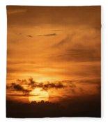 Sunset Ahuachapan 24 Fleece Blanket