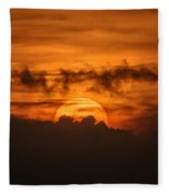 Sunset Ahuachapan 33 Fleece Blanket