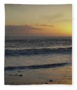 Sunset At Barry Fleece Blanket