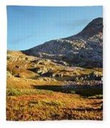 Sunset At Eldorado Lake - Weminuche Wilderness - Colorado Fleece Blanket