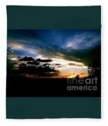Sunset At The North Rim Fleece Blanket