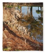 Sunset By The Water Fleece Blanket