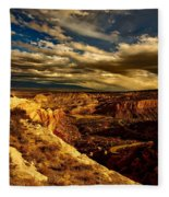 Sunset Clouds Fleece Blanket