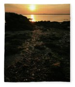 Sunset Coast Fleece Blanket