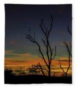 Sunset Cocktail Fleece Blanket