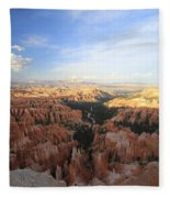 Sunset Colours Bryce Canyon 2 Fleece Blanket