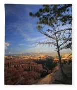 Sunset Colours Bryce Canyon 3 Fleece Blanket