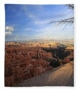 Sunset Colours Bryce Canyon 4 Fleece Blanket