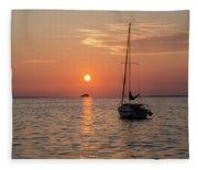 Sunset Dreams - Florida Fleece Blanket