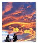 Sunset Extravaganza Fleece Blanket
