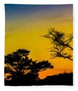 Sunset Fantasy Fleece Blanket