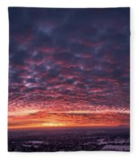 Sunset For Days Fleece Blanket