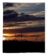 Sunset I I Fleece Blanket