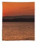 Sunset In Lassi Fleece Blanket