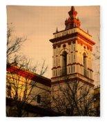 Sunset In Seville - San Roque Fleece Blanket